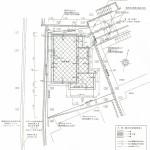 木造2階建て住宅の参考配置図です。