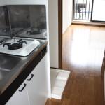 202号室のキッチン