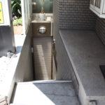 地下1階へは外から直接入ることもできます。