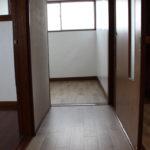3階の廊下です。