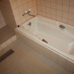 広い浴室です。